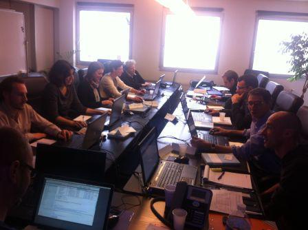 Stagiaires de la formation qualité Web, novembre 2012